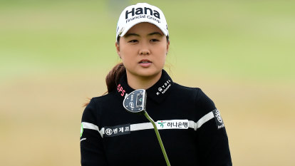 Australian Lee just two shots behind Women's British Open leader
