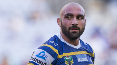 Former Eels prop Tim Mannah could hold the key to Isaac Moses' future.
