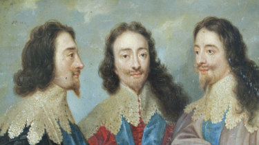 """King Charles I: The economic collapse is still short of the plunge in 1629, the first year of his period of """"personal rule""""."""