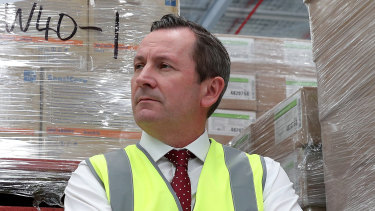 Premier Mark McGowan said Australia would be in severe trouble without WA.