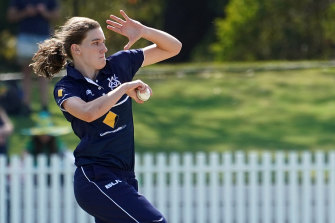 Annabel Sutherland has been called up to the Australian squad for the Twenty20 World Cup.