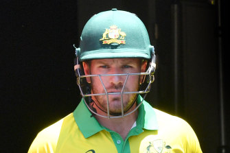 Aaron Finch and his Australian team have been ordered to lock down due to a tropical storm in the Caribbean.