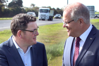 Daniel Andrews and Scott Morrison are in agreement on some things.