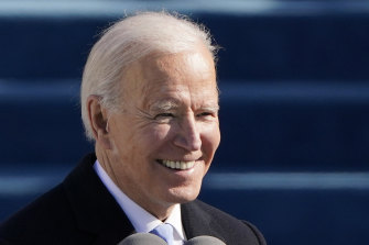 President Joe Biden: 'This is democracy's day. A day of history and hope, of renewal and resolve.'