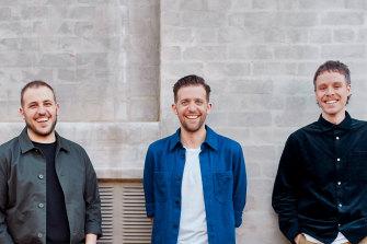 Linktree co-foundersAlex Zaccaria, Anthony Zaccaria, and Nick Humphreys.