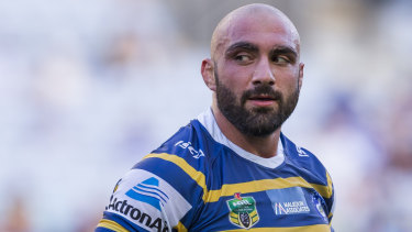 Moving on: Tim Mannah is set to join Wests Tigers.
