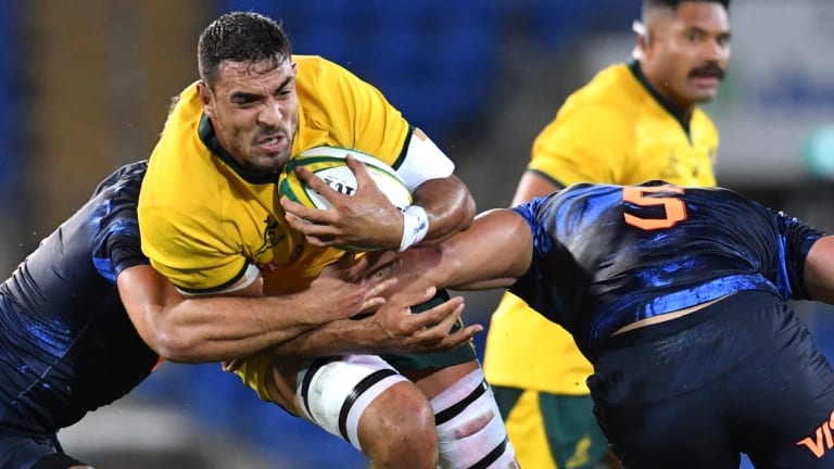 Canberra lock Rory Arnold is trying to lock down his Wallabies spot ahead of the World Cup in Japan next year.