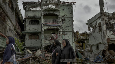 The destruction of Marawi city in the southern Philippines last year was caused by the uprising of Islamic State militants.