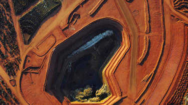 Lyna's mine in Mount Weld in Western Australia, a rich deposit of rare earths.