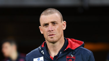 Melbourne coach Simon Goodwin.