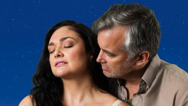 Kate Maree Hoolihan and Ian Stenlake star in The Bridges of Madison County.