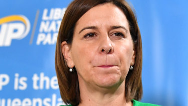Opposition Leader Deb Frecklington will have to provide a similar bonus for the public service or risk its wrath.