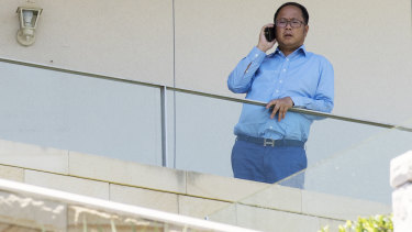 Huang Xiangmo hopes to return to his palatial Mosman home.