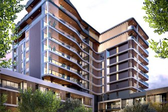 More than 80 per cent of the project has already been sold, according to Blackburne.