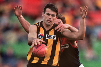 Chris Langford played over 300 games and won four AFL premierships with Hawthorn.