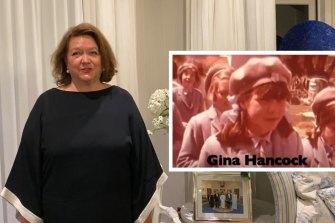 Gina Rinehart's video for St Hilda's Anglican School.