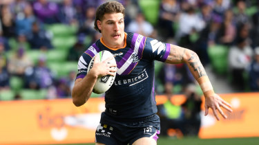 Curtis Scott is eager to repay his Melbourne Storm teammates for their support this season.
