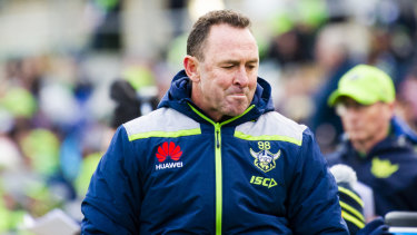 Ricky Stuart has steered the Raiders into the top four this season.