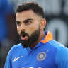Kohli smashes the West Indies with blistering 70 off 29 balls