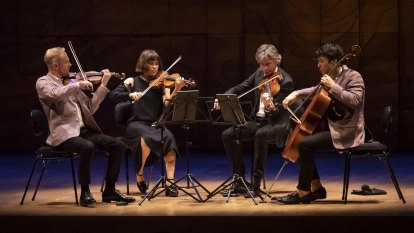 After 18 months away, this string quartet takes a glorious bow