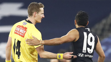 Will Carlton, for example, face back-to-back periods in quarantine?