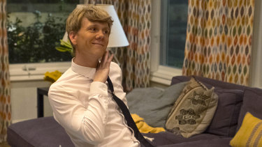 Josh Thomas stars in his new comedy series  Everything's Gonna Be Okay on Stan.