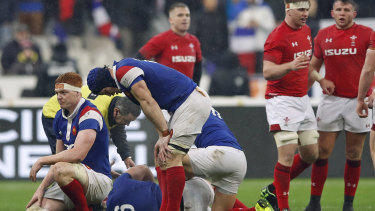 The French will need to improve markedly from their performance against Wales.