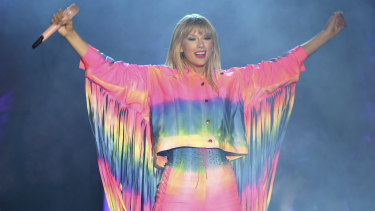 Swift, pictured here at Wango Tango in California in June, will be releasing her new album, Lover, this Friday.