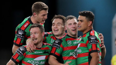 Souths are gunning for five wins on the trot.