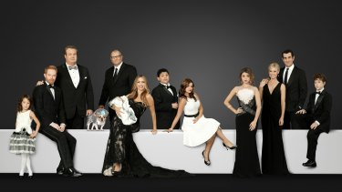 The way we were ... the cast of Modern Family.