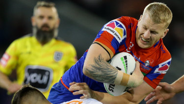Mitch Barnett has added three years to his Knights contract.