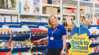 Officeworks CEO Sarah Hunter is ready for a back-to-school season like no other.