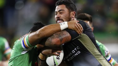 Andrew Fifita will fight a dangerous contact charge in a bid to play for Tonga next weekend.