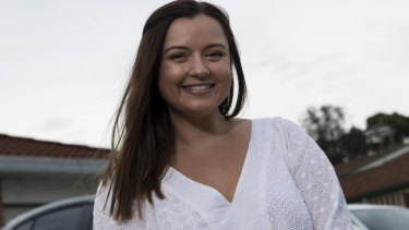"""The change of pace has really done it for me"": Gemma Watson moved from Liverpool to Wollongong Hospital."