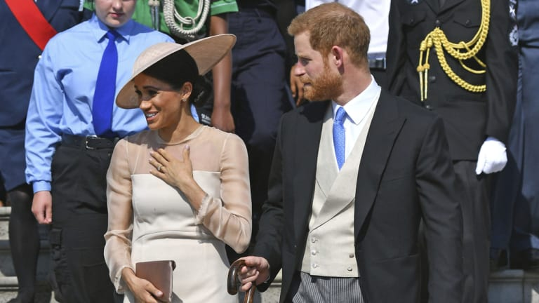 Prince Harry and Meghan married on Saturday.