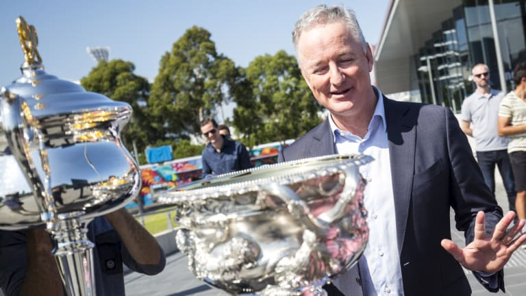 Nine boss Hugh Marks says Seven rejected a 'very fair' offer for the tennis rights.