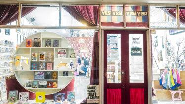 Fitzroy bookshop, Hares & Hyenas.