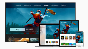 Apple leans in to video games with exclusive subscription service