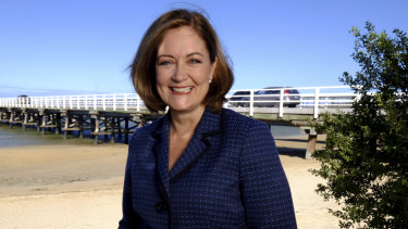 Federal Liberal MP Sarah Henderson's electorate covers Geelong.