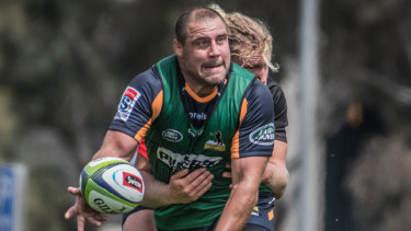 Josh Mann-Rea is happy to be injury-free and ready to throw himself back into Super Rugby.