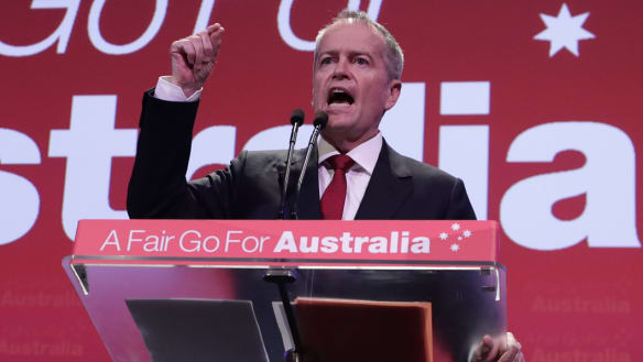 Don't blow this - not now: Bill Shorten's message at Labor's quasi election launch