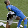 Neymar is roasted on social media after epic World Cup dive