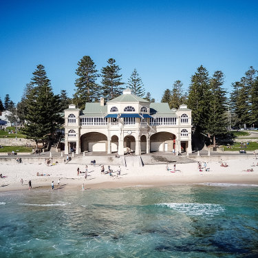 Perth's Cottesloe Beach.