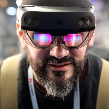 Microsoft's HoloLens headsets have been point to as a major step forward for wearable AR devices.