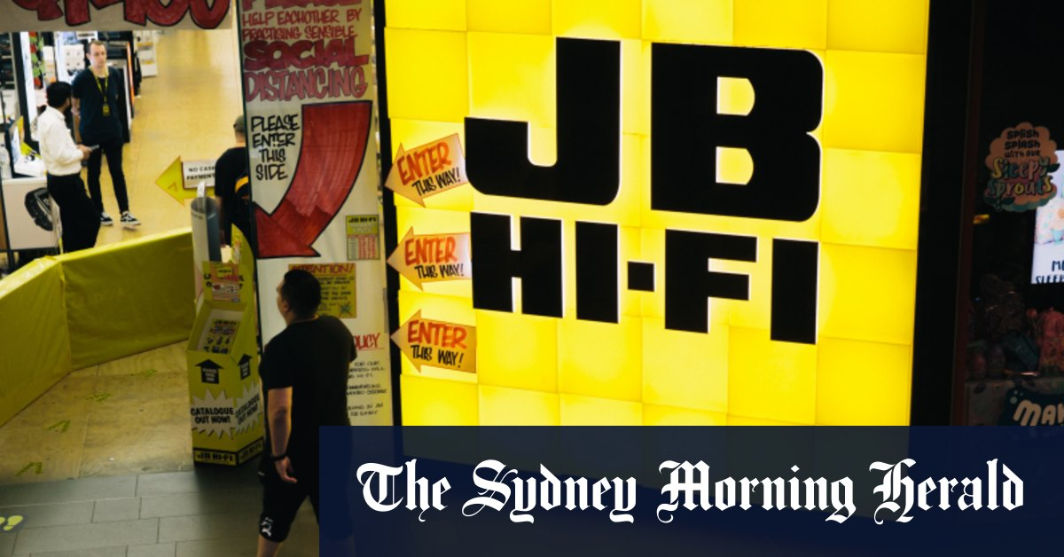 JB Hi-Fi reports record year dividend jumps – Sydney Morning Herald