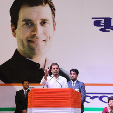 Rahul Gandhi in New Delhi in March.