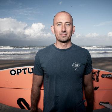 Formston is a triple world surfing champion.
