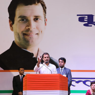 Rahul Gandhi in New Delhi in March.