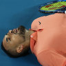 The mental toll the Australian Open took on Nick Kyrgios