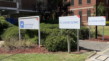 Three COVID-19 clinics will open in Perth on Tuesday.